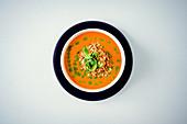 Vegan tomato cream soup