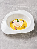Fermented radish in mustard sauce (vegan)