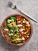 Romanesco Cauliflower Buddha Bowl (Vegan)