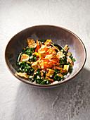Winter Kale Salad Bowl (Vegan)