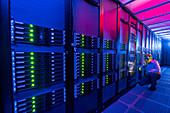 Fermilab Grid Computing Center, Illinois, USA