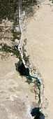 New Suez Canal, satellite image
