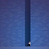 Stress, conceptual illustration