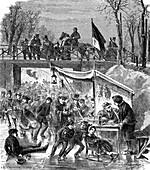 La Belle Alliance, 19th century illustration