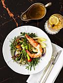 Classic seafood salad