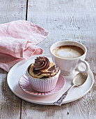Bicolour muffin