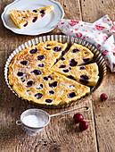 Cherry cake (Clafoutis)