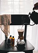 Kaffee mit Chemex-Kaffeekanne zubereiten