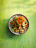 Bahn Mi Bowl with Smashed Cucumber