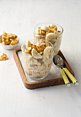 Peanut-Banana-Milchreis