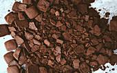 Chocolate cookie crumble