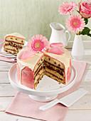 Drip wonder cake with cream cheese buttercream