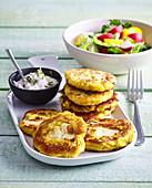 Cauliflower cakes (rissoles)