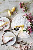 Torta al limone (lemon cake)