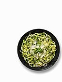 Zucchini-Spaghetti (zoodles)
