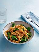 Broccoli Spaghetti with Parmesan