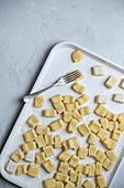 Home made potato gnocchi
