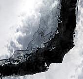 North Rift of A-74 iceberg, satellite image