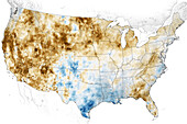 Western USA drought, June 2021