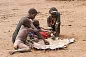 Daasanach tribe teenagers