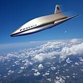Phoenix prototype spaceplane, illustration