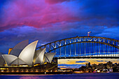 Sydney Opera House and Harbour Bridge, Australia