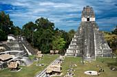 Temple I, Tikal, Guatemala