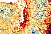 Heatwave, Washington, USA, June 2021