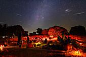 Perseids meteor shower, Portugal