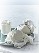 Labneh Cheese made from yoghurt