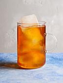 Peach iced tea (sugar-free)