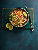Asian Chicken Salad with Cole Slaw