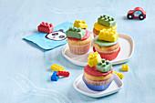 Lego kits muffins