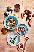 Ingredients for Middle Eastern stews