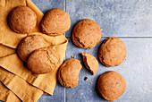 Overnight rolls (sugar-free)