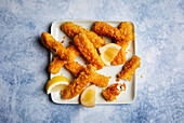 Homemade fish fingers (sugar-free)