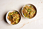 Asian noodle salad with cucumber (sugar-free)