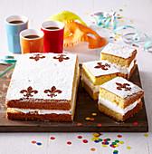 Yolk cake