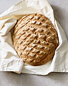Sourdough wholemeal bread