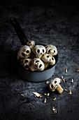 Halloween mushrooms