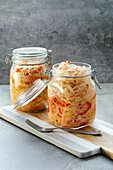 Fermented spicy coleslaw