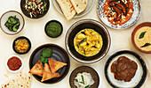 Indisches Abendessen
