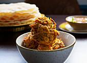 Bhaji (Onion snack, India)