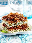 BBQ chicken lasagna