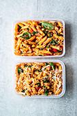 easy To go pasta salads