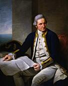 Captain James Cook, English explorer
