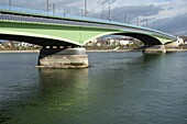 Solar panels on bridge