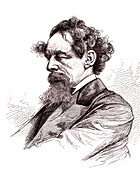 Charles Dickens, English author