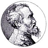 Michelangelo, Italian artist, 19th century illustration