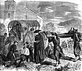 Battle of Solferino, 19th century illustration